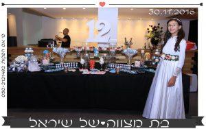אירוע הפקת בת מצווה מס 13
