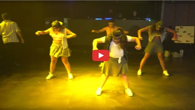 סרטון ריקוד טודו בום בת מצווה